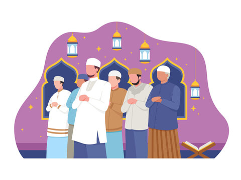 Listen to the Sermon and Offer Friday Prayers in Congregation