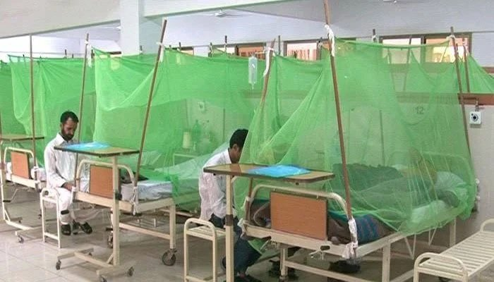 Of the cases reported in Punjab, a majority of 74% have been reported from the city of Lahore alone, notes the data of Punjab's primary and secondary healthcare department.
